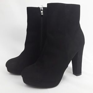 Catherine Malandrino Black Booties Size 7.5